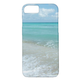 Relaxing Blue Beach Ocean Landscape Nature Scene iPhone 7 Case