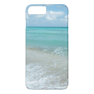 Relaxing Blue Beach Ocean Landscape Nature Scene iPhone 7 Plus Case