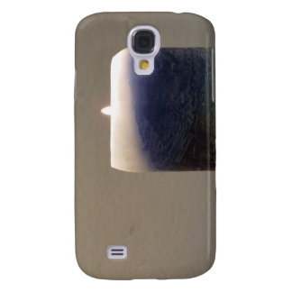Relaxing Blue Candle 1 Galaxy S4 Case