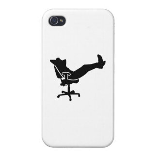Relaxing boss office iPhone 4 covers
