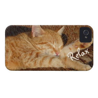 Relaxing Cat Case-Mate iPhone 4 Case
