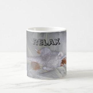 Relaxing Cat Coffee Mug