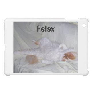 Relaxing Cat iPad Mini Cover