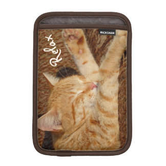 Relaxing Cat iPad Mini Sleeve