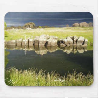 Relaxing Country Mouse Pad