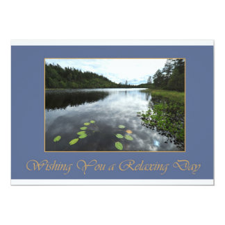 Relaxing Day 5x7 Paper Invitation Card