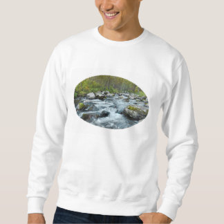 Relaxing Forest River Sweatshirt