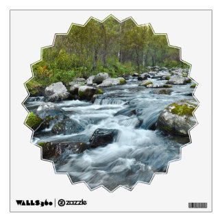 Relaxing Forest River Wall Decal