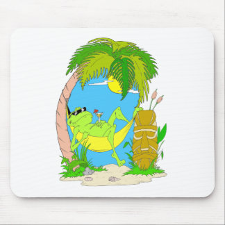Relaxing Frog Mouse Pad