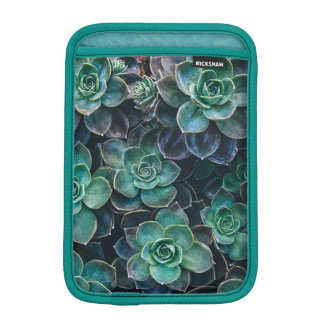 Relaxing Green Blue Succulent Cactus Plants iPad Mini Sleeve