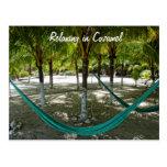 Relaxing in Cozumel Postcard