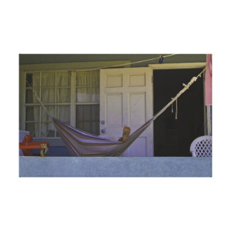 Relaxing in the Hammock Canvas Print