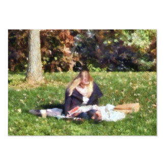 Relaxing in the Park Card