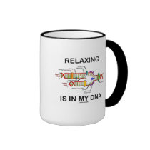 Relaxing Is In My DNA (DNA Replication) Mug