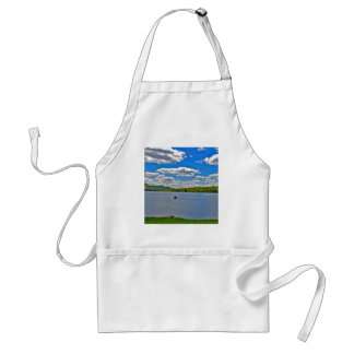 Relaxing Lake Adult Apron