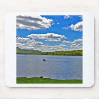 Relaxing Lake Mouse Pad