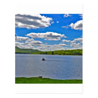 Relaxing Lake Postcard