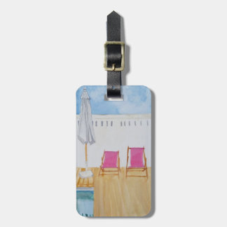 Relaxing Luggage Tag