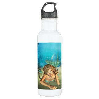 Relaxing Mermaid 24oz Water Bottle