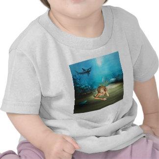 Relaxing Mermaid T-shirts