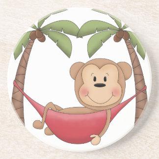 Relaxing Monkey Drink Coaster
