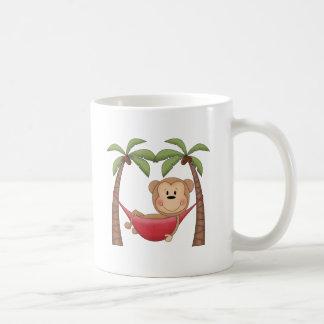 Relaxing Monkey Classic White Coffee Mug
