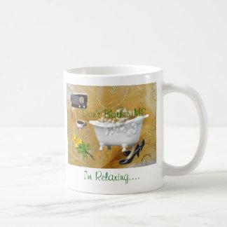 Relaxing Mug-customize Classic White Coffee Mug