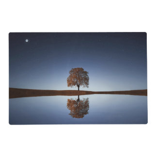 Relaxing Nature Water & Tree Reflection Placemat