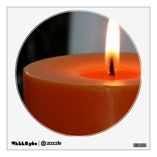 Relaxing Orange Candle 1 Room Graphics