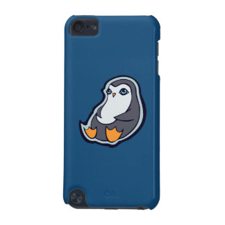 Relaxing Penguin Sweet Big Eyes Ink Drawing Design iPod Touch (5th Generation) Case