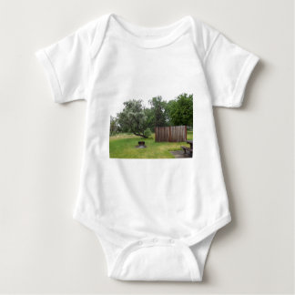 Relaxing Picnic Area Baby Bodysuit