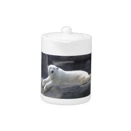 Relaxing Polar Bear Teapot