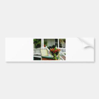 Relaxing Porch Bumper Sticker