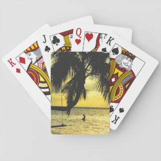 Relaxing Romantic Beach Scence Playing Cards