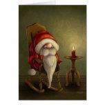 Relaxing Santa Greeting Card