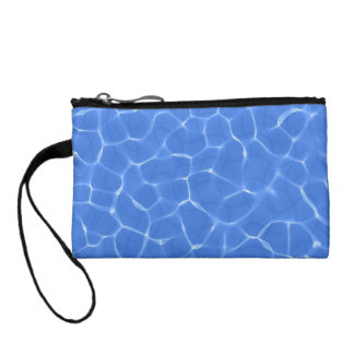 Relaxing Swimming Pool Ripples Coin Purse