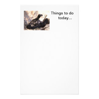 Relaxing things to do list... stationery
