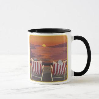 Relaxing Tropical Honeymoon Mug