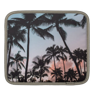 Relaxing Tropical Palm Trees Sunset Sleeve For iPads