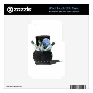 RelaxingBathItemsChest070315 Decals For iPod Touch 4G