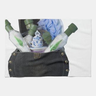 RelaxingBathItemsChest070315 Kitchen Towels