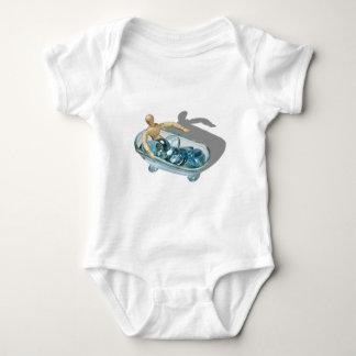 RelaxingInWater092110 Baby Bodysuit