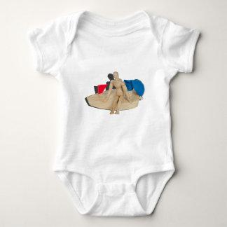 RelaxingOnBalloonPoweredBoat042014.png Baby Bodysuit