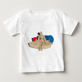 RelaxingOnBalloonPoweredBoat042014.png Baby T-Shirt