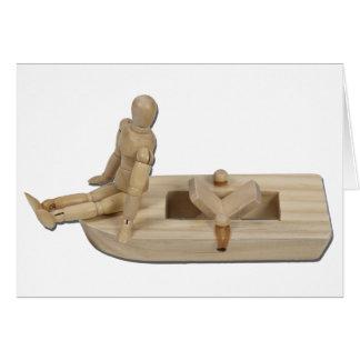 RelaxingPowerBoat020511 Tarjeta De Felicitación