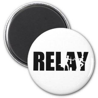 Relay 2 Inch Round Magnet