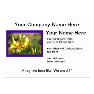 Relay For Life-Never Give Up Gifts-Cancer Survivor Large Business Cards (Pack Of 100)