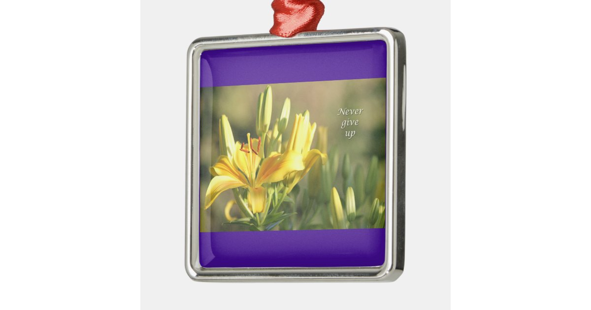 Relay For Life Never Give Up Gifts Cancer Survivor Metal