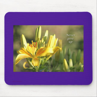 Relay For Life-Never Give Up Gifts-Cancer Survivor Mouse Pad