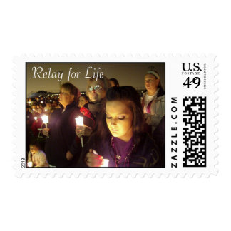 Relay for Life Postage Stamp